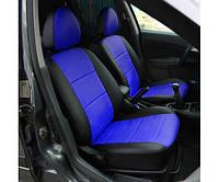 Чехлы на сидения для автомобилей Део(Daewoo), кожвинил красные
