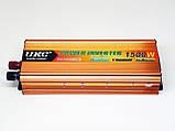 Інвертор UKC 1500W 24V Перетворювач струму AC/DC Gold, фото 6
