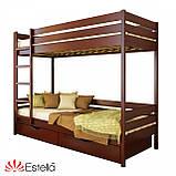 """Двоярусне ліжко """"Дует"""" з бука (щит, масив), фото 9"""