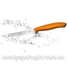 Кухонный нож Victorinox SwissClassic Tomato&Table 6.7836.L119 Викторинокс Оранжевый, фото 2