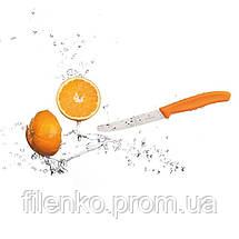 Кухонный нож Victorinox SwissClassic Tomato&Table 6.7836.L119 Викторинокс Оранжевый, фото 3
