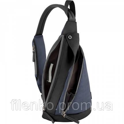 Рюкзак Victorinox Travel ALTMONT 3.0/Blue Vt601438 Чорний Синій, фото 2