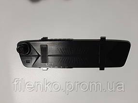 Автомобільний відеореєстратор дзеркало Blackbox DVR 206 Super Slim FULL HD реєстратор. Чорний, фото 3