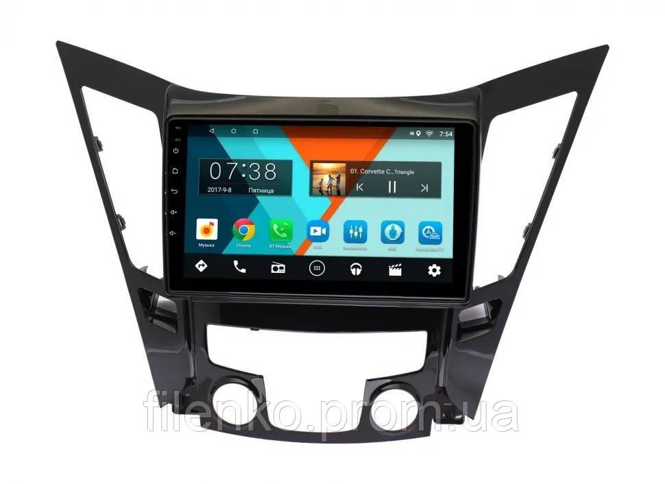 "Автомагнитола штатная Sound Box для Hyundai Sonata 2011-2014 магнитола Экран 10"" Android 10.1"