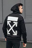 Мужской спортивный костюм  ОВ классик черный, фото 1