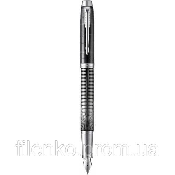 Ручка перова Parker IM 17 Premium SE Metallic Pursuit CT Паркер (25 011)