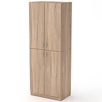 Шкаф КШ-12 60х37х159 см. Цвет на выбор