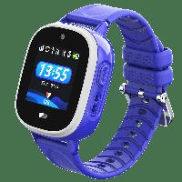 Cмарт-часы детские JETIX DF40 Maximal Edition c защитой от воды IP67 (Dark Blue)