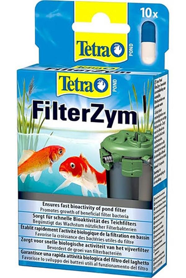 Препарат TetraPond Filter Zym 10 капсул