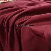 Ткань джинс-бенгалин бордовый
