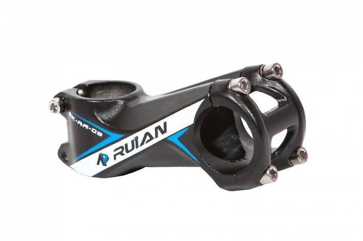 """Вынос руля AL 1-1/8"""" RUIAN RA-009 д.31,8мм длина: 80 mm черн., фото 2"""