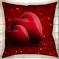 Велика подушка Два серця разом назавжди