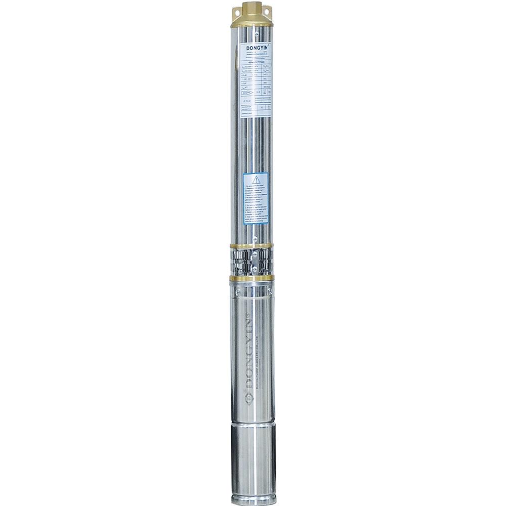 Насос центробежный скважинный 0.37кВт H 35(26)м Q 90(60)л/мин Ø80мм AQUATICA (DONGYIN) (777090)