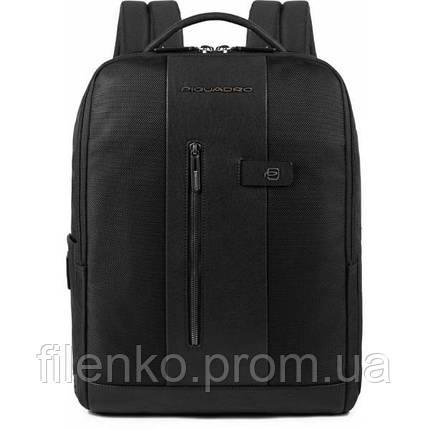 Рюкзак для ноутбука Piquadro BRIEF/Black Пиквадро CA4818BR_N Чорний, фото 2