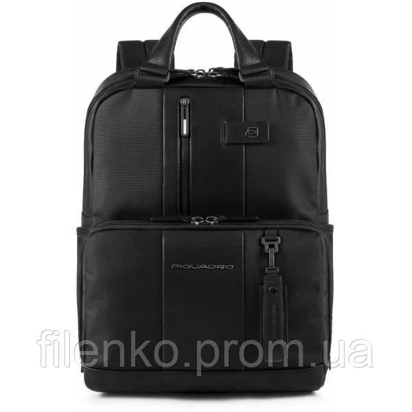 Рюкзак для ноутбука Piquadro BRIEF/Black CA3975BR_N Пиквадро Черный