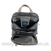 Рюкзак Piquadro VIBE/Blue-Grey с отдел. д/ноутбука 13 CA1813VI_BGR Пиквадро Синий, фото 2