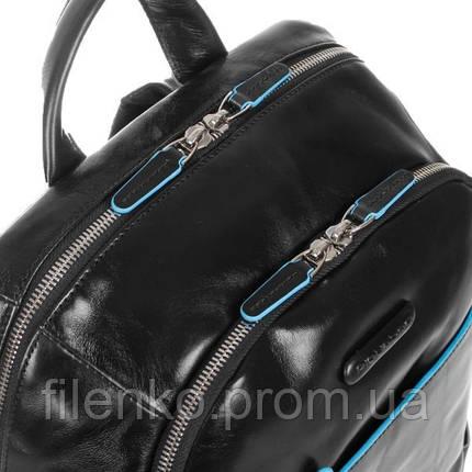 Рюкзак Piquadro с чехлом для ноутбука/iPad/iPad Mini BL SQUARE/Black CA3214B2_N Пиквадро Черный, фото 2