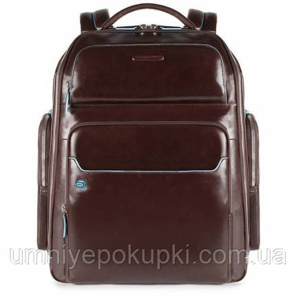 Преміум Рюкзак для ноутбука Piquadro Blue Square (B2) CA3998B2_MO, фото 2