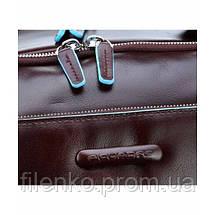 Преміум Рюкзак для ноутбука Piquadro Blue Square (B2) CA3998B2_MO, фото 3