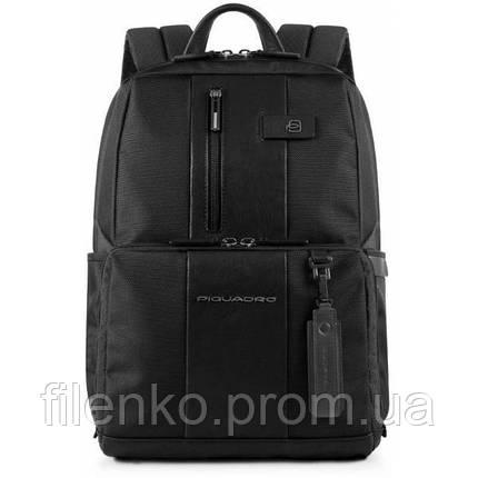 Рюкзак для ноутбука Piquadro BRIEF Bagmotic/Black CA3214BRBM_N Пиквадро Чорний, фото 2