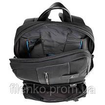 Рюкзак для ноутбука Piquadro BRIEF Bagmotic/Black CA3214BRBM_N Пиквадро Чорний, фото 3