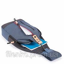 Рюкзак Piquadro BLADE/Blue CA4536BL_AV Пиквадро Синий, фото 2