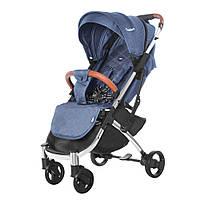 Удобная детская прогулочная коляска джинс Tilly Comfort + москитная сетка + чехол накидка + подстаканник