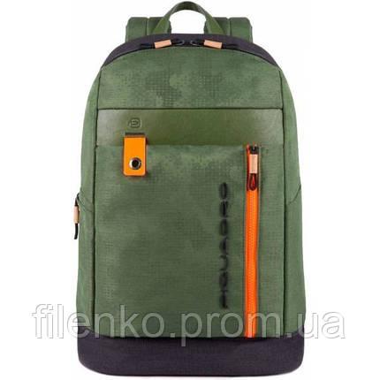 Рюкзак для ноутбука Piquadro BLADE/Green CA4545BL_VE Пиквадро Зеленый, фото 2