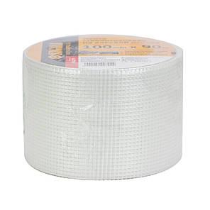 Лента стеклотканевая на клеевой основе 100мм×90м SIGMA (8402791), фото 2