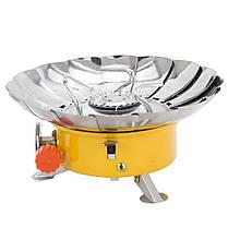 Плита газовая с пьезоподжигом и защитой от ветра SIGMA (2903511), фото 3