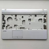 Топкейс крышка с тачпадом для ноутбука Sony Vaio PCG-61611L б/у оригинал 45NE7PHN020