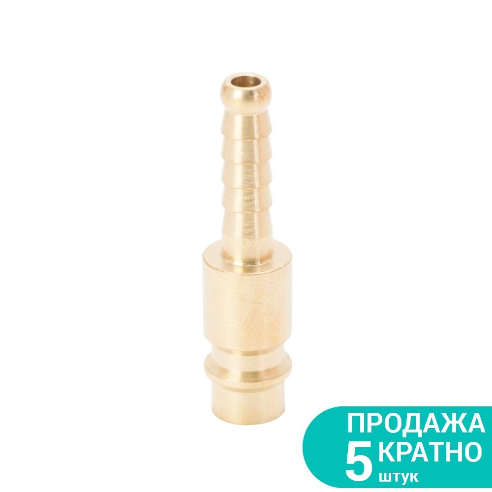 Штуцер для шланга удлиненный 6мм (латунь) Sigma (7022611)