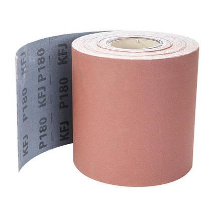 Шлифовальная шкурка тканевая рулон 200мм×50м P180 SIGMA (9112691), фото 2