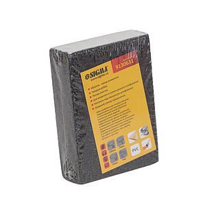 Губка шлифовальная четырехсторонняя 100×70×25мм P40 SIGMA (9130631), фото 2