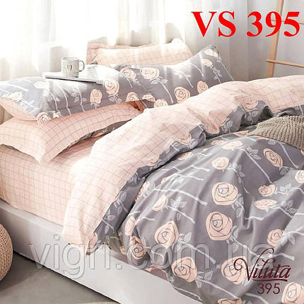 Постельное белье двуспальное, сатин, Вилюта «Viluta» VS 395, фото 2