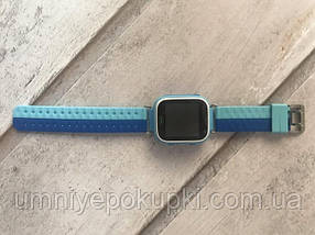 Смарт часы Smart Watch Q80 c GPS Light Blue, фото 3
