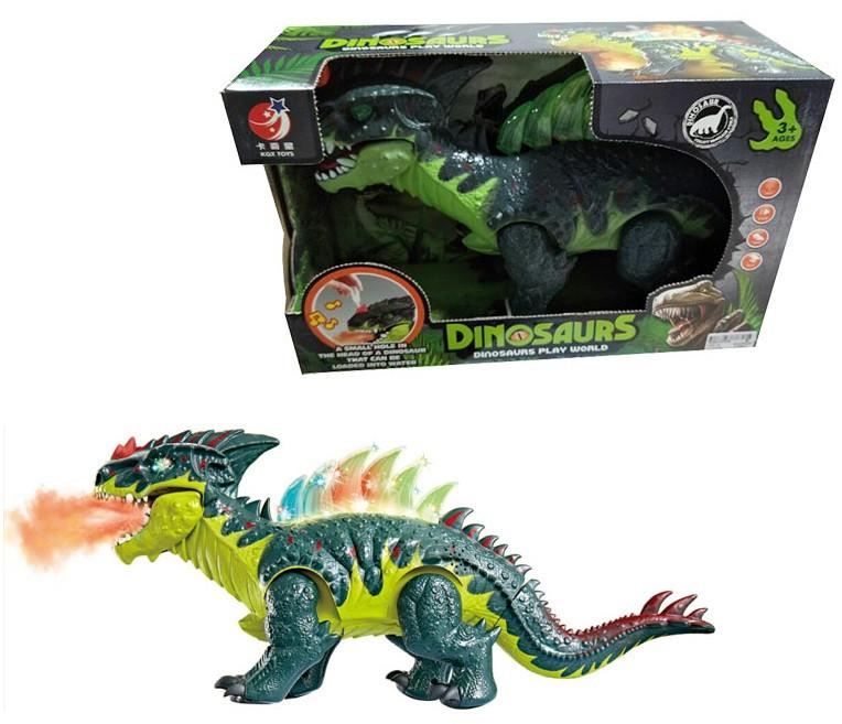 """Інтерактивне тварина """"Динозавр"""", звук, рух, KQX-13"""