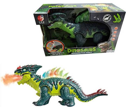 """Інтерактивне тварина """"Динозавр"""", звук, рух, KQX-13, фото 2"""