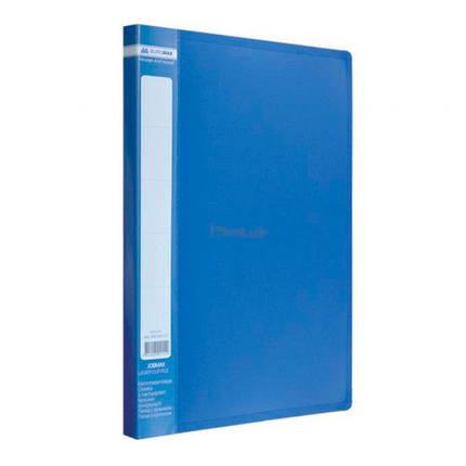Папка JOBMAX, A4, со скоросшивателем, синяя, BM.3406-02, фото 2