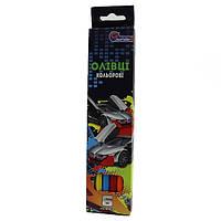 """Карандаши J. Otten """"Sportcar"""", пластиковые, 6 цветов, 1051CC-6"""