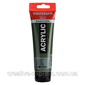Фарба акрилова AMSTERDAM, (622) Оливковий зелений темний, 120 мл, Royal Talens, фото 2