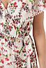 Платье длинное в цветочек большого размера с принтом, размер 52-58, фото 4
