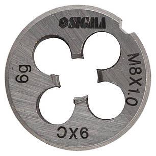 Плашка М8×1,0мм SIGMA (1604201), фото 2