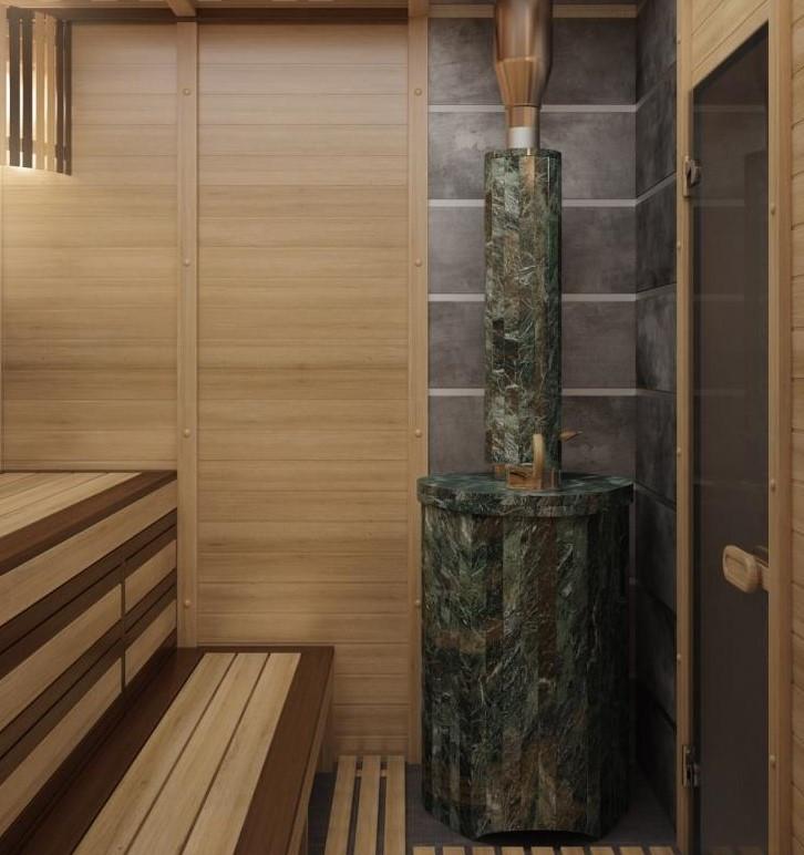 """Сауна """"Сборная"""" 8,0 м3. Строительство бани и сауны."""