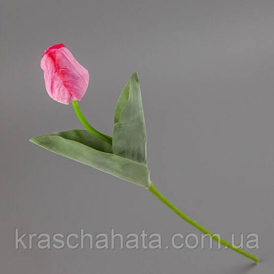 Тюльпан силикон, цветок искусственный, 55 см, Днепр