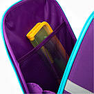 Рюкзак школьный каркасный Kite Education Cute puppy Фиолетовый K20-555S-3, фото 8