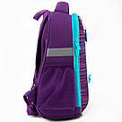 Рюкзак школьный каркасный Kite Education Cute puppy Фиолетовый K20-555S-3, фото 5