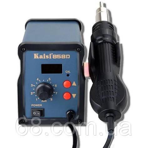 Паяльная станция для ремонта мобильных телефонов турбинная Kaisi паяльный фен без паяльника