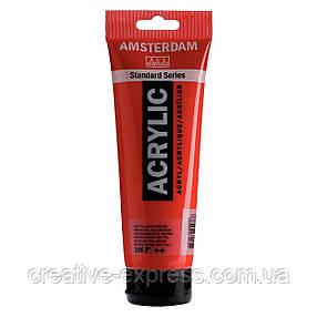 Фарба акрилова AMSTERDAM, (396) Нафтоловий червоний середній, 250 мл, Royal Talens, фото 2
