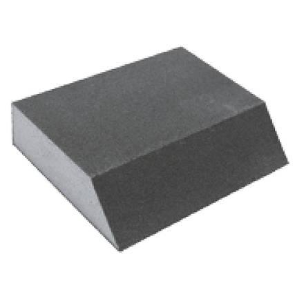 Губка шлифовальная четырехсторонняя угловая 110×90×25мм P120 Sigma (9130471), фото 2